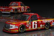Retro 1990 Mark Martin #6 Folgers Ford (CWS15 Mod)