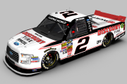 2018 Brad Keselowski #2 Discount Tire Ford F-150 Fictional Paint Scheme (CWS 15 MOD)