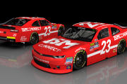 Bill Elliott's #23 2018 Chevrolet Camaro (Johnsonville 180)