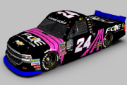 2018 #24 FOE.com Breast Cancer Awareness Talladega Truck