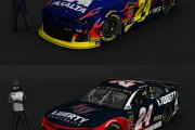 #24 William Byron 2019 Paints