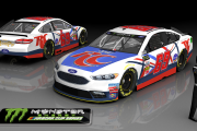 MENCS 2017/18 Fictional RC Cola #69 Ford Fusion