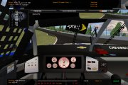 Gray carbon fiber dashboard textures for the MENCS19 mod