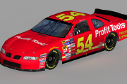 1998 #54 GeGe Gravel Pontiac ( Busch North )