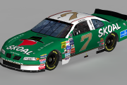 1998 #7 Bobby Dragon Skoal Pontiac ( Busch North )