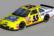 1997 #55 Michael Waltrip Ford ( Winston West )