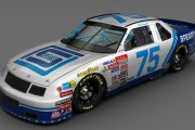 1992 #75 Bill Sedgwick Spears Chevrolet ( Winston West )