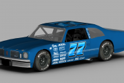 TMS CLM 1974 Olds Cutlass Template