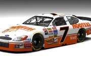 Retro 1992 Alan Kulwicki #7 Hooters Ford (SnG 2003-05 Mod)
