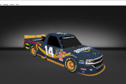 fictional #14 amazon chevy truck