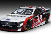 2019 #38 David Ragan Mannington Commercial Ford (IND)