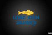 Long John Silvers Layered Logo