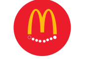 McDelivery Circle Logo