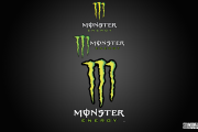 Monster energy Logo/Decal Sheet