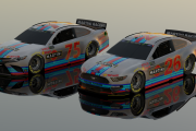 Martini Racing #75 Toyota and #26 Ford