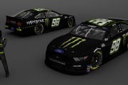 *FICTIONAL* Riley Herbst 98 Monster Energy 2021 Ford Mustang