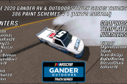 2020 Gander RV & Outdoors Truck Series Carset
