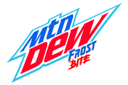 Mountain Dew Frost Bite Logo
