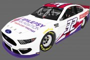 *FICTIONAL* Matt Tifft #32 & BJ Mcleod #78 Epilepsy Foundation 2021 Mustangs