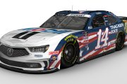#14 Tony Stewart Patriotic Scheme Fictionals
