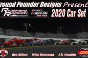 2020 Riverhead Raceway Car Set by Ground Pounder Designs