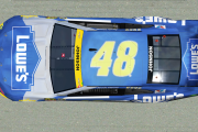 2021 *FICTIONAL* 2016 Jimmie Johnson Championship car