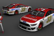 *FICTIONAL* Austin Cindric #33 Ford Motorcraft 2021 Mustang