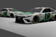 *FICTIONAL* 2021 Kyle Busch Interstate Batteries 2013 Toyota Camry XSE