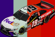 Joe Gibbs Racing Full Carset | Las Vegas 1