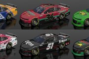Days Of Thunder Carset 2021 MENCS--6 CARS!