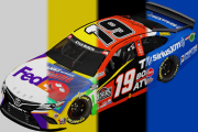 Joe Gibbs Racing Full Carset | Atlanta 1